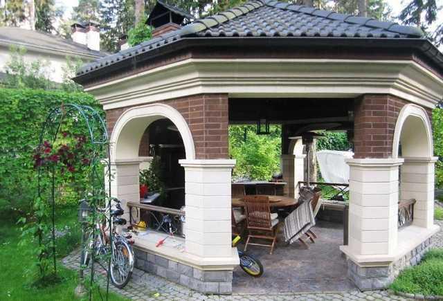 мангалы для садовых беседок и летних кухонь