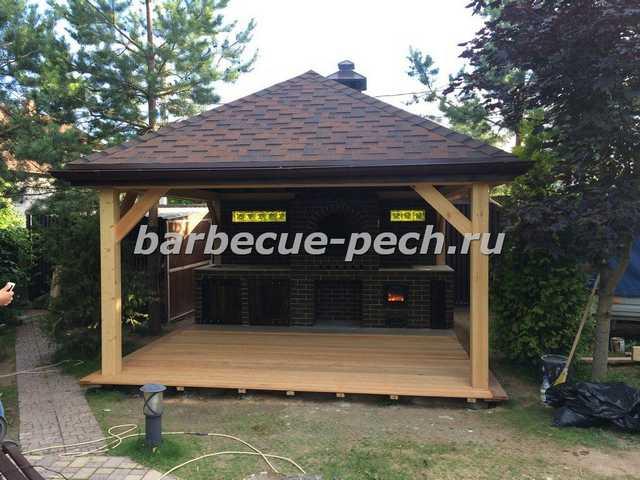 Деревянные барбекю проекты домов с площадкой барбекю